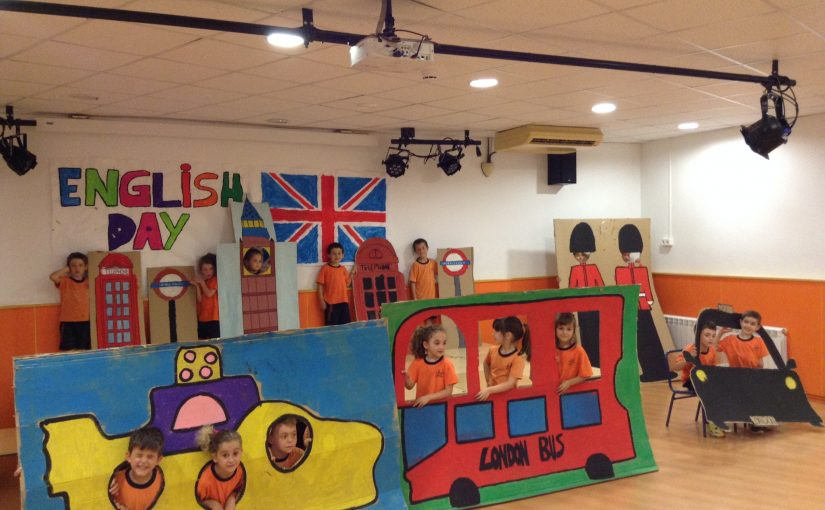ENGLISH DAY in  INFANTIL (second part)